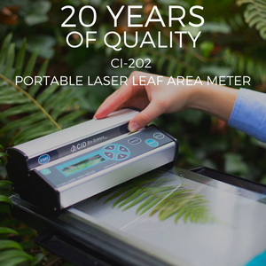 Featured image for May 2017 News: Win a Portable Laser Leaf Area Meter for the season!