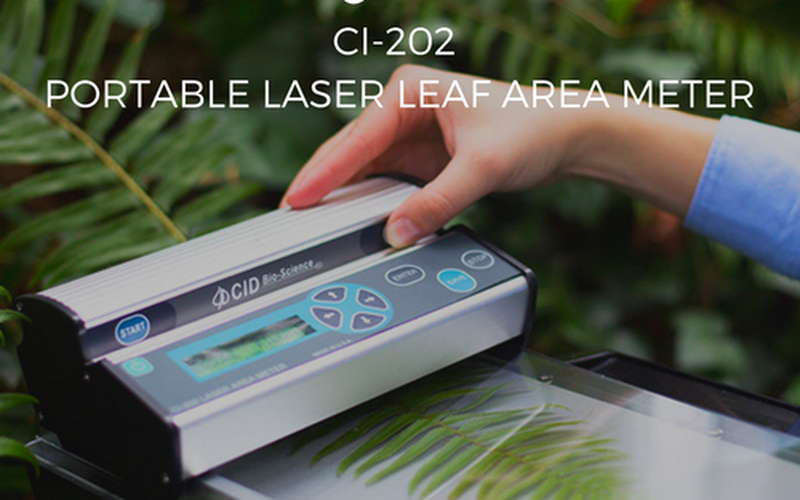 Leaf Area Meter Equipment : May news win a portable laser leaf area meter for